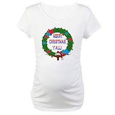 Longhorn Santa - Merry Christmas Yall! Shirt