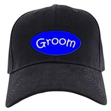 Black Groom Wedding Cap