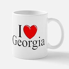 """I Love Georgia"" Mug"