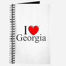 """I Love Georgia"" Journal"