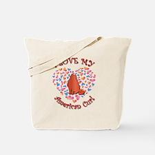 Love My Curl Tote Bag