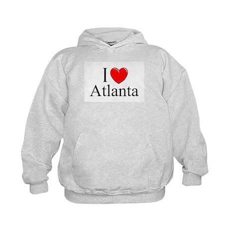 """""""I Love Atlanta"""" Kids Hoodie"""