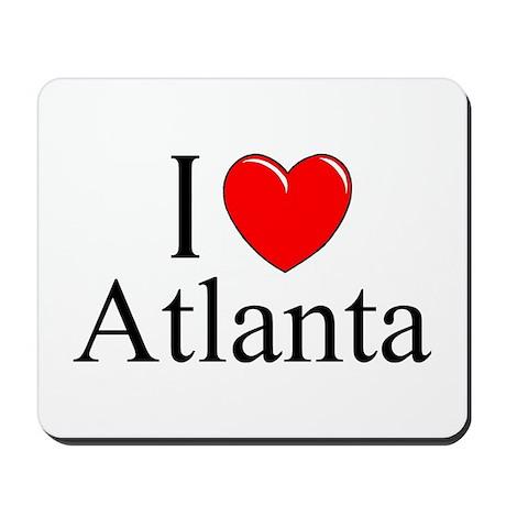 """""""I Love Atlanta"""" Mousepad"""