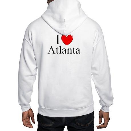 """I Love Atlanta"" Hooded Sweatshirt"