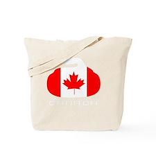 Canada Curling Tote Bag