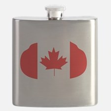 Canada Curling Flask