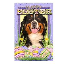 EasterEggCookiesBerneseMo Postcards (Package of 8)
