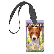 EasterEggCookiesBasenji Luggage Tag