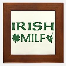 Irish MILF Framed Tile
