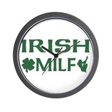 Irish MILF Wall Clock