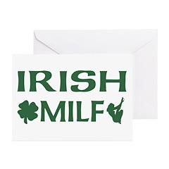 Irish MILF Greeting Cards (Pk of 10)