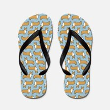 showercurtain Flip Flops