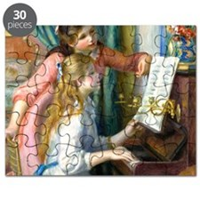 Pillow Renoir Piano Puzzle