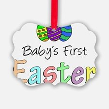 Babys First Easter Ornament