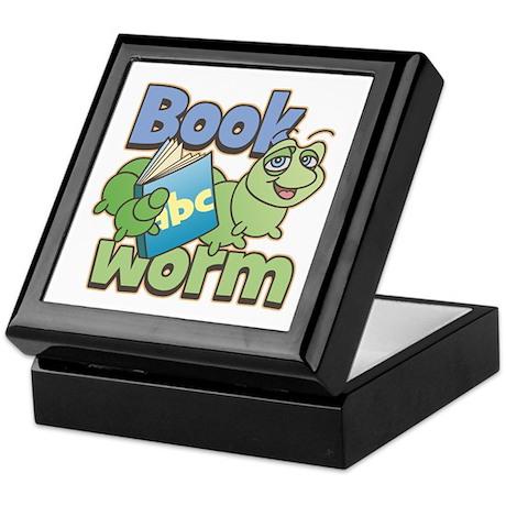 Bookworm Keepsake Box