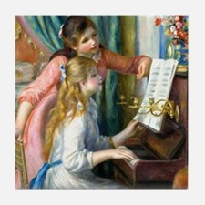 iPad Renoir Piano Tile Coaster
