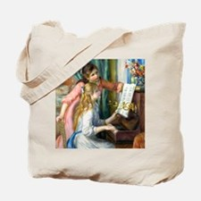 iPad Renoir Piano Tote Bag