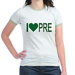 I *heart* PRE Jr. Ringer T-Shirt