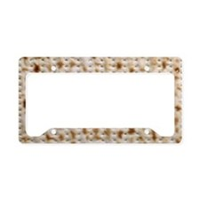 matzo gigantic 828kb License Plate Holder