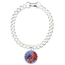 Bluebird in Blossoms Bracelet