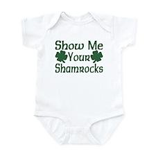 Show Me Your Shamrocks Infant Bodysuit