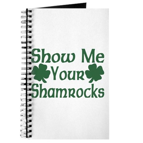Show Me Your Shamrocks Journal