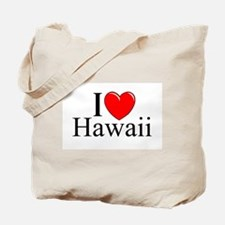 """""""I Love Hawaii"""" Tote Bag"""