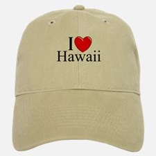 """I Love Hawaii"" Baseball Baseball Cap"