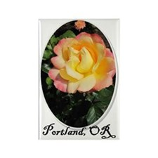 portland Rectangle Magnet