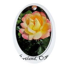 portland Oval Ornament