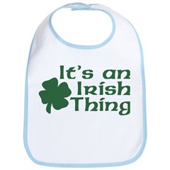 It's an Irish Thing Bib