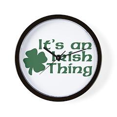 It's an Irish Thing Wall Clock