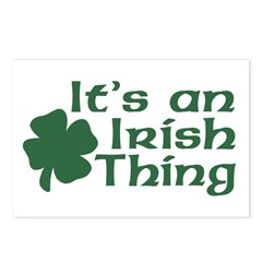 It's an Irish Thing Postcards (Package of 8)