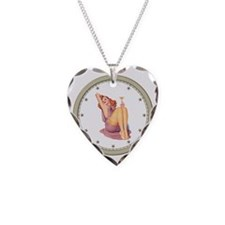 CLOCK A Pin-Up Silver Star Necklace