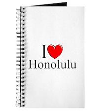 """""""I Love Honolulu"""" Journal"""