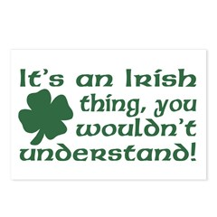 It's an Irish Thing Understand Postcards (Package