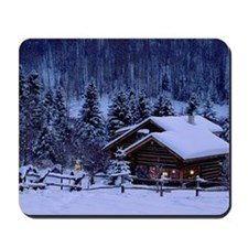 I'm dreaming of a white Christmas Mousepad
