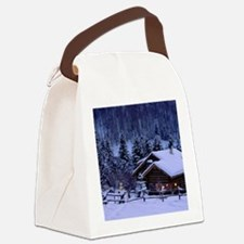 I'm dreaming of a white Christmas Canvas Lunch Bag