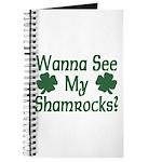 Wanna See My Shamrocks Journal