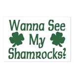 Wanna See My Shamrocks Postcards (Package of 8)