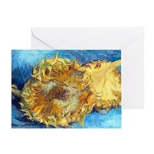 Cal VanGogh H1 Greeting Card
