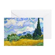 Cal VanGogh H4 Greeting Card