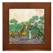 Cal VanGogh H8 Framed Tile