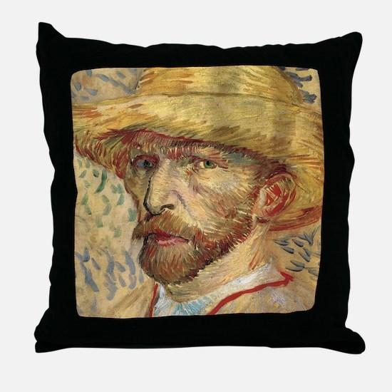 Cal VanGogh H19 Throw Pillow
