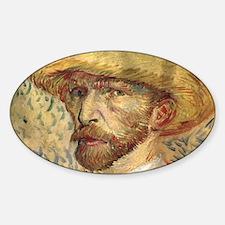 Cal VanGogh H19 Sticker (Oval)