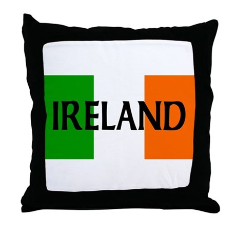 Ireland Flag Throw Pillow