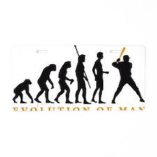 Evolution Baseball B 2c Aluminum License Plate