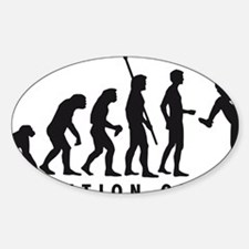 Evolution Baseball pitcher 1c Decal