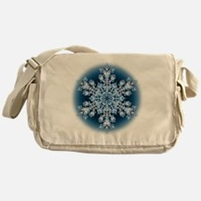 Snowflake 067 - transparent Messenger Bag