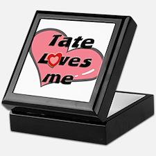 tate loves me Keepsake Box